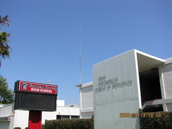 Garden Grove High School Garden Grove California