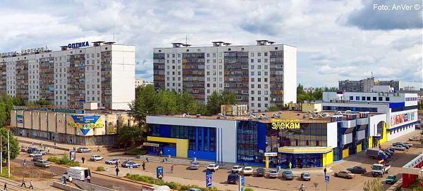 12 км от центра (Набережные Челны) Мир / Россия / Татарстан.  Naberezhnyye Chelny, Yarchally.  Tatarstan.