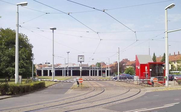 Ehemaliges Stra Enbahndepot Braunschweig
