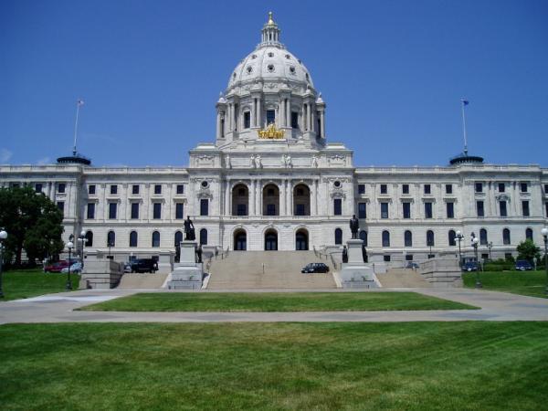 Minnesota State Capitol Building Saint Paul Minnesota