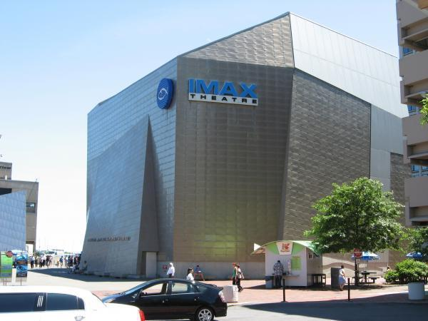 Simons Imax New England Aquarium Boston Massachusetts