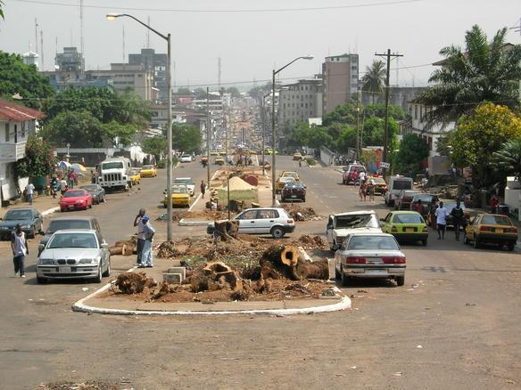 ... عاصمة جمهورية ليبيريا