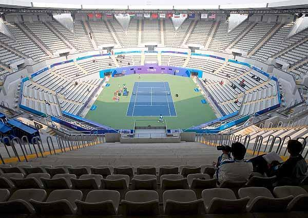 Olympic Green Tennis Center_The Games of the 29th Olympiad_Sina.com