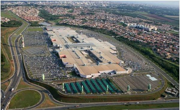 Parque Dom Pedro Shopping Campinas