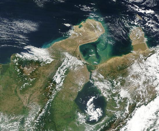 Полуостров Гуахира На Карте