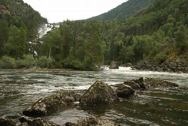 Водопады евразии