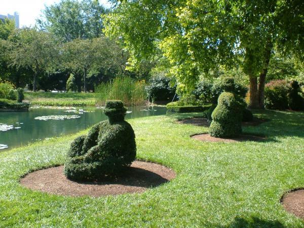 Old Deaf School Topiary Park Columbus Ohio