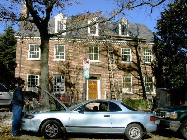 residence of secretary of state hillary clinton washington d c