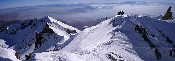 Erciyes Dağı - 3916m , kayseri