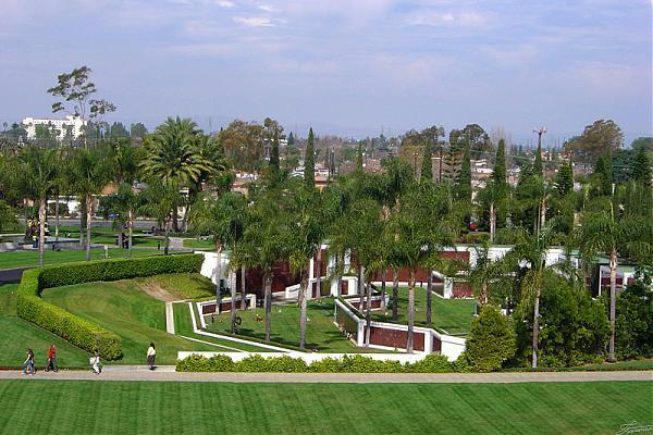 Memorial Gardens Garden Grove California