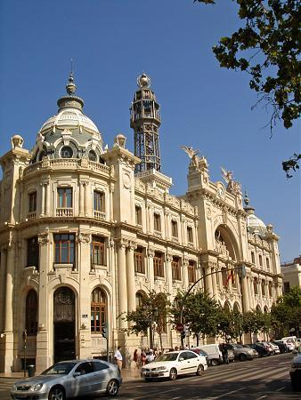 Edificio de correos y tel grafos valencia for Horario oficina de correos valencia
