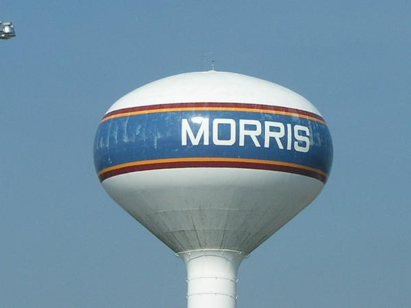 Morris (IL) United States  City new picture : City Of Morris Water Tower