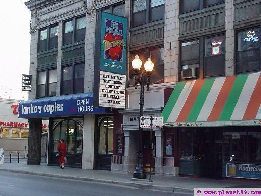 Division Street Bar District Chicago Illinois
