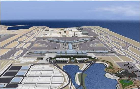 Aeroporto Qatar : Novo aeroporto internacional de doha Доха
