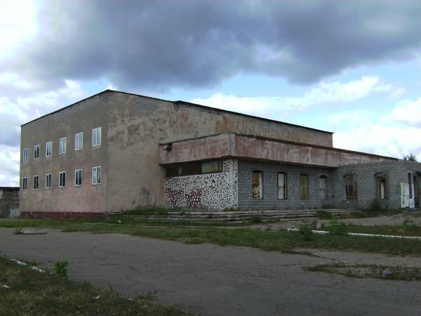 """Бывший кинотеатр  """"Орион """" является Зал Царства Свидетелей Иеговы находится в Енакиево."""