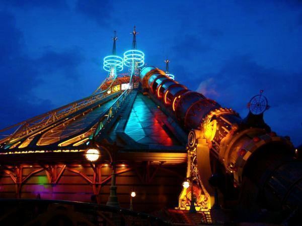 Hyperspace Mountain Mission 2  Attraction Star Wars