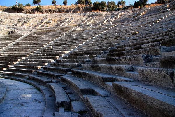 Bodrum Theater - Bodrum  theatre, ruins, ancient ...