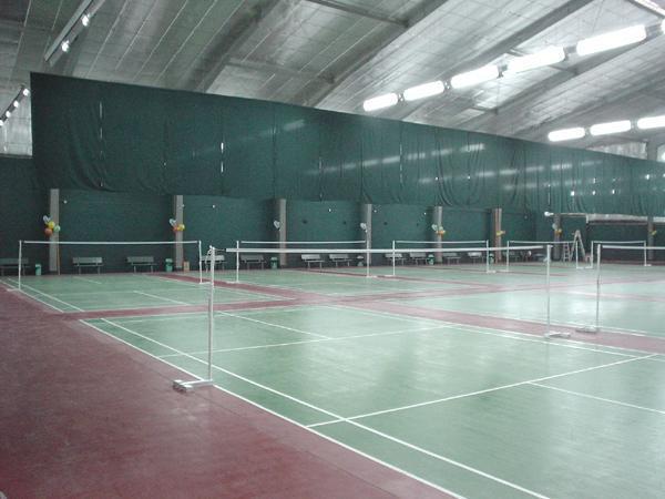 Court zone badminton center manila for Aquatic sport center jardin balbuena