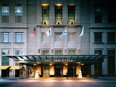 The peninsula chicago hotel chicago illinois for Peninsula hotel chicago