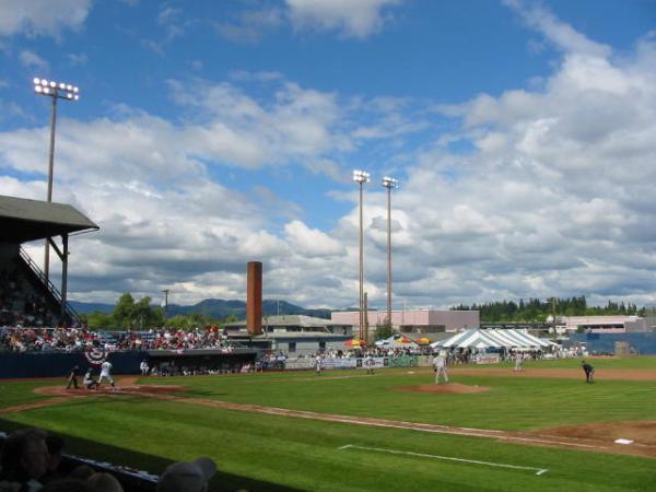 Civic Stadium Eugene Emeralds Baseball Eugene Oregon