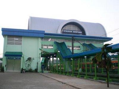 Stasiun Kereta Api Serpong Tangerang Selatan