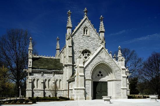 Crown Hill Gothic Chapel Indianapolis Marion County Indiana