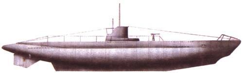 немецкая подводная лодка в калининградской