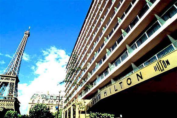 Hilton Paris Hotel Eiffel Tower