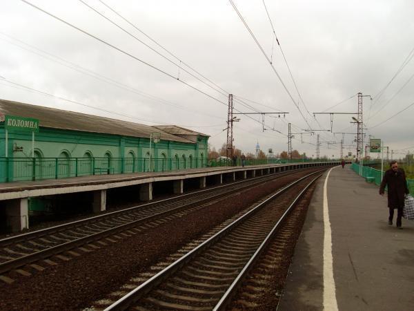 Железнодорожная платформа Коломна - Коломна