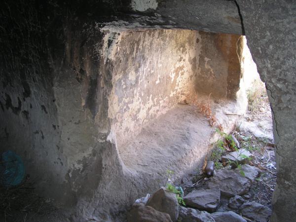 Int rieur de la domus de janas de is concas ii for Domus interieur