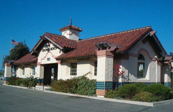 Amtrak Station In Grover Beach Ca