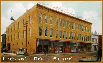 Leeson 39 S Building Elwood Indiana Place With Historical Importance