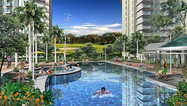 Parkside villas at newport city pasay - Southeastern college pasay swimming pool ...