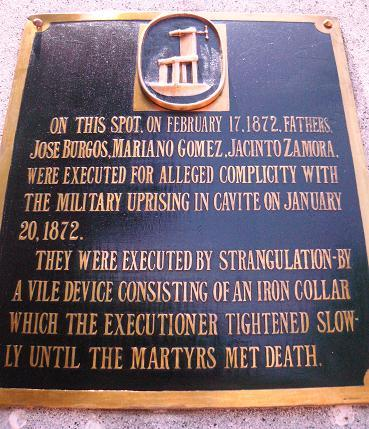 the execution of gomburza The death of the three martyrs sparked the filipino nationalism and united them to reach a common goal and for a common cause this short film basically pres.