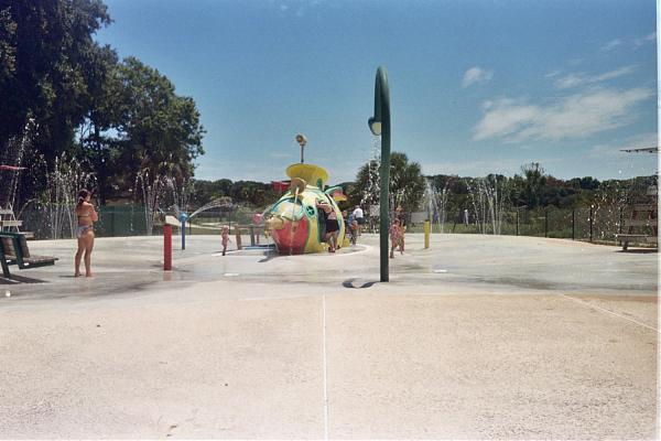 Water Park At Hanna Park Jacksonville Florida