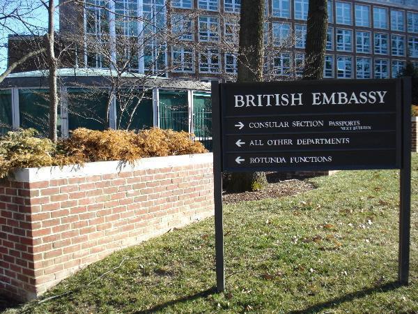 government world organisations british embassy oslo