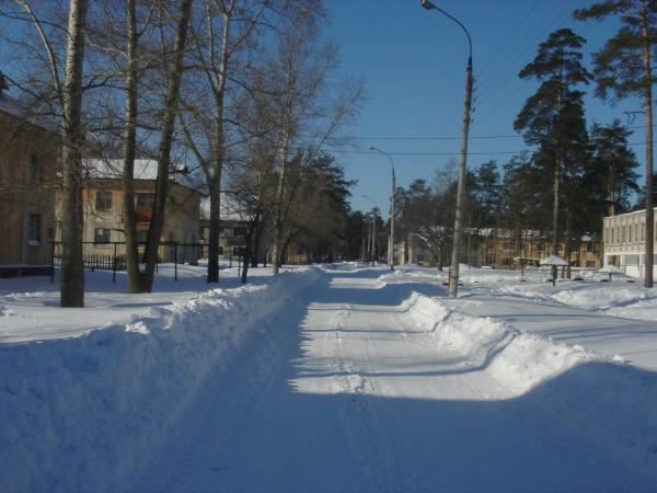 центральный область поселка фото нижегородская
