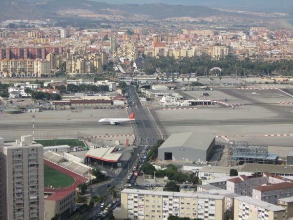 Aeroporto Gibilterra : Aeroporto di gibilterra