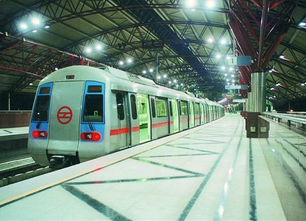 Shastri park metro station