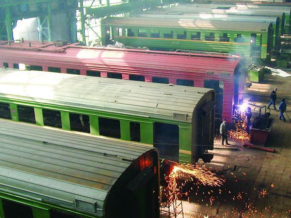 Всё, приехали: мощнейший локомотиворемонтный завод Украины погиб без России