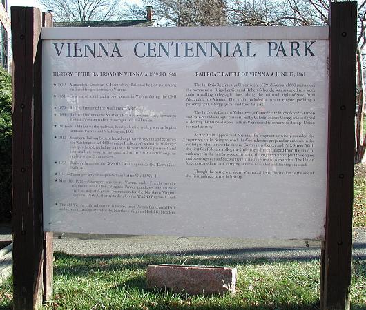 Park Vienna Va: Caboose In Vienna Centennial Park