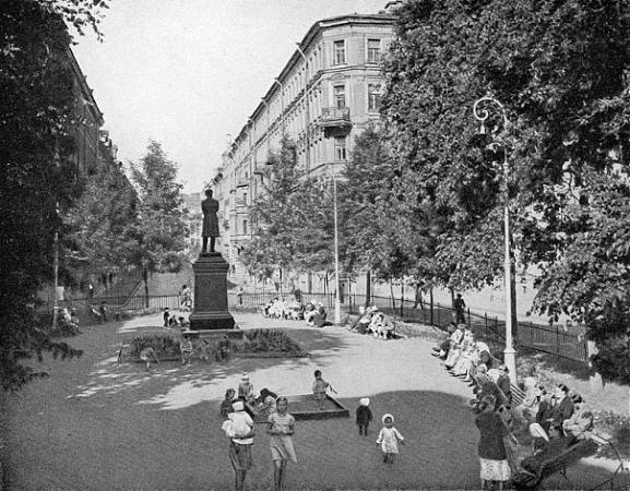 Статуя памятник монумент пушкин