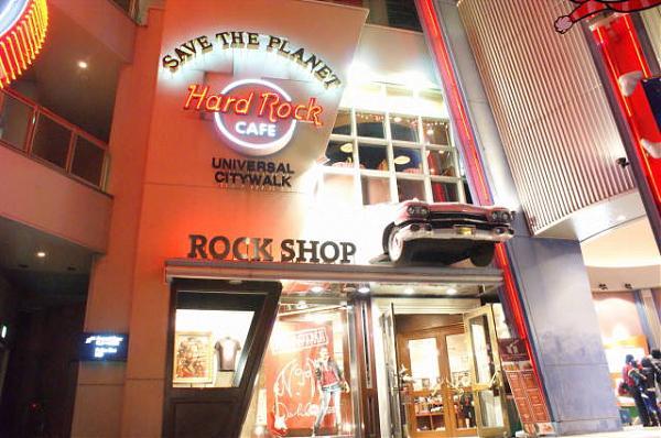 ロック 大阪 ハード カフェ