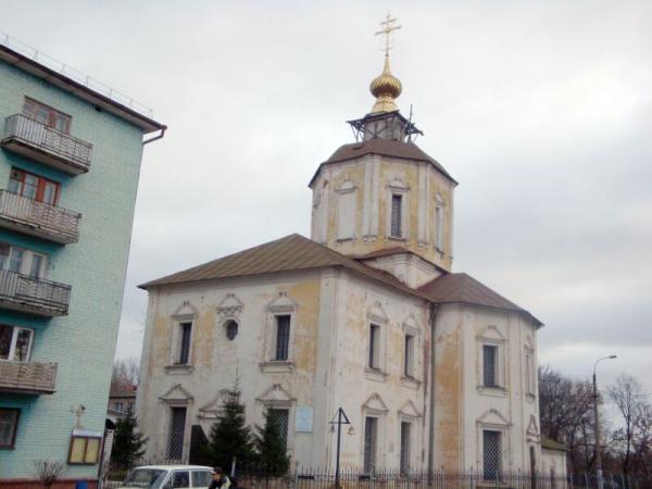 Церковь Успения Пресвятой Богородицы бывш. Успенского Отроч мужского монас