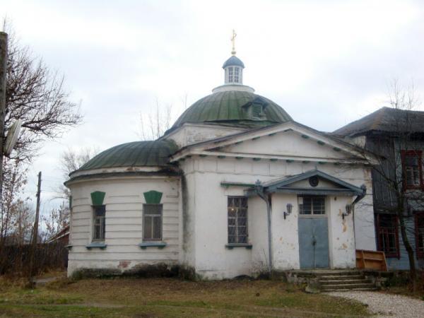 Больничная церковь Троицы Живоначальной Христорождественского монастыря в г