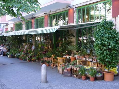 Blumencafe berlin for Pflanzencenter berlin
