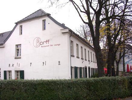Restaurant Korff Krefeld Deutsch