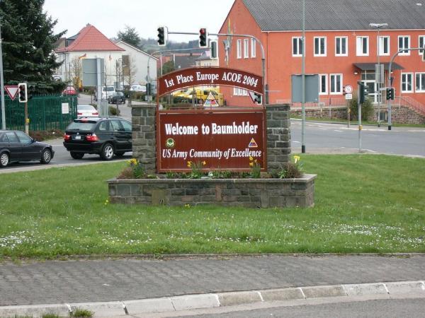 Baumholder Germany Barracks Smith Barracks at Baumholder