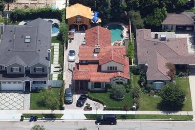 Ashley Tisdale house in Los Angeles