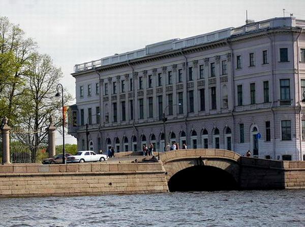 Санкт-Петербург. Дом И. И. Бецкого - Дворец принца Ольденбургского